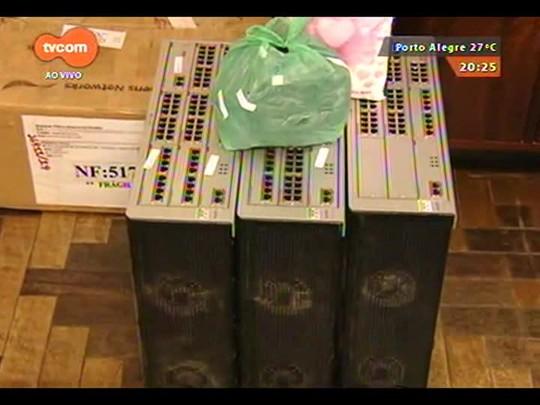 TVCOM 20 Horas - Desarticulada quadrilha que vendia produtos de empresa e desviava o dinheiro - 16/12/2014
