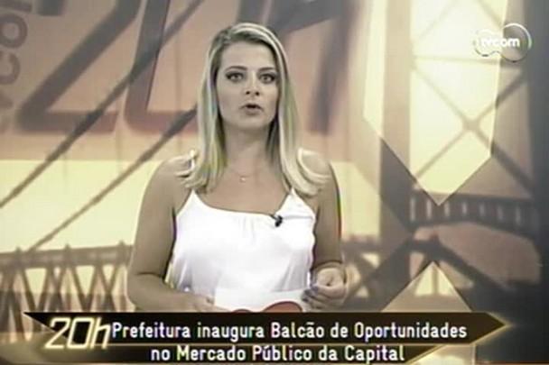 TVCOM 20h - Inaugurado Balcão de Oportunidades de emprego no Mercado Público - 15.1.15