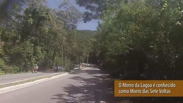 Bike Repórter – A experiência de subir o Morro da Lagoa