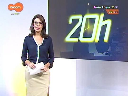 TVCOM 20 Horas - BM faz buscas a suspeitos de balear policial civil no Morro da Cruz - 15/04/2015