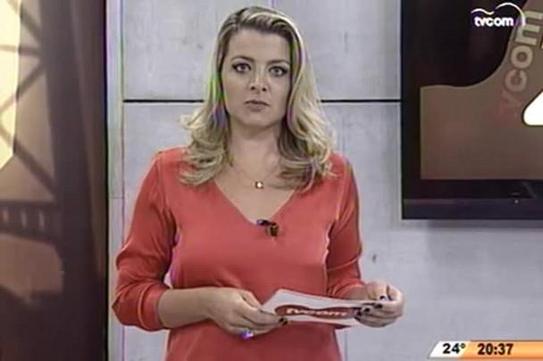 TVCOM 20 Horas - Entrevista com a coordenadora regional da Turma do Bem, responsável pelo programa Dentista do Bem, Núbia Giuliani - 27.04.15