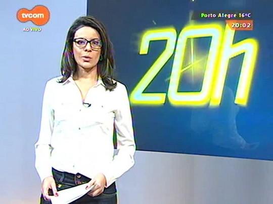 TVCOM 20 Horas - Dia de paralisação nacional causa transtornos no trânsito da região metropolitana - 29/05/2015