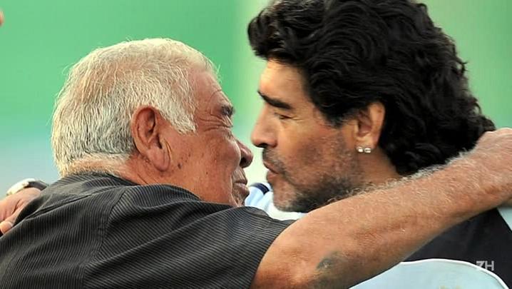 Pai de Maradona morre aos 87 anos