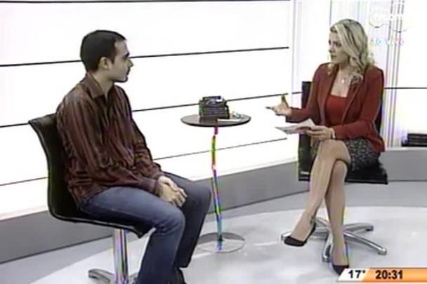 TVCOM 20 Horas - Upiara Boschi comenta sobre a posse de Djalma Berger e Claudio Vignatti na Eletrosul - 21.07.15