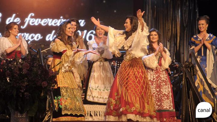 Patrícia Piccoli Zanrosso é eleita princesa da Festa da Uva 2016