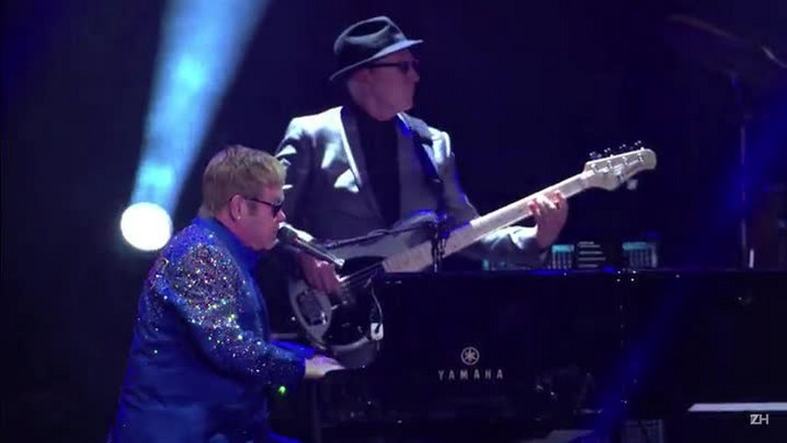 Rod Stewart e Elton John brilham no Rock in Rio