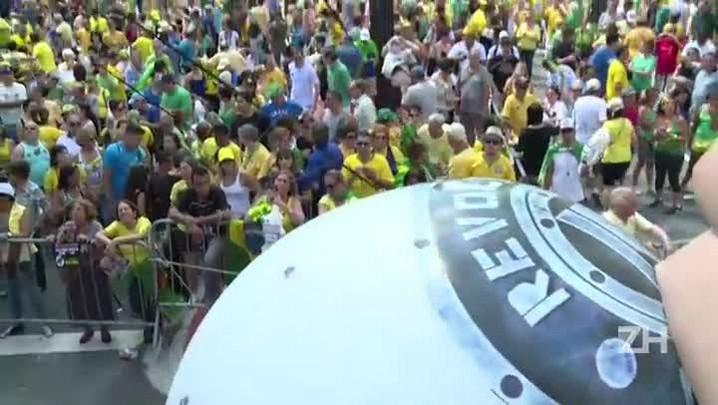 Protestos para exigir impeachment de Dilma perdem força
