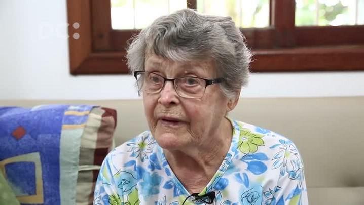 Sita Eger conta como eram as visitas aos internos do Hospital Colônia Santa Tereza