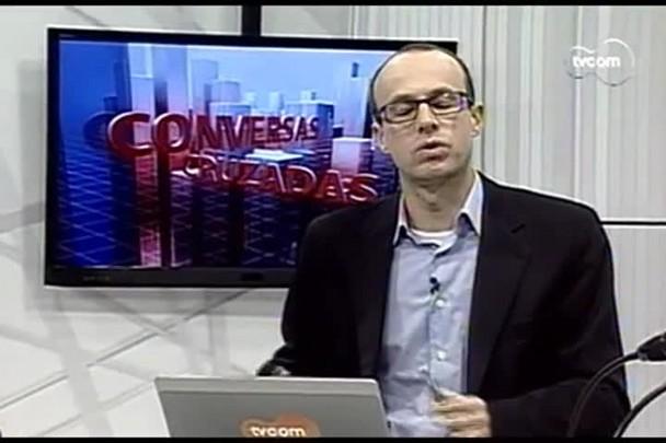 TVCOM Conversas Cruzadas. 3º Bloco. 10.08.16