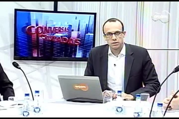 TVCOM Conversas Cruzadas. 2º Bloco. 26.08.16