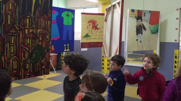 Escolinha promove exposição artísitca