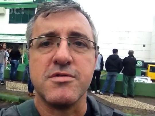 Darci Debona fala sobre o clima em Chapecó após acidente com avião da Chapecoense