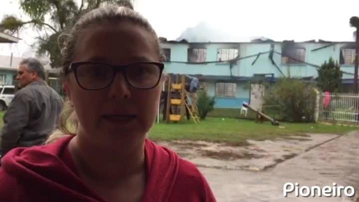 Testemunhas relatam movimentação de fuga e resgate durante incêndio em Asilo Santa Isabel