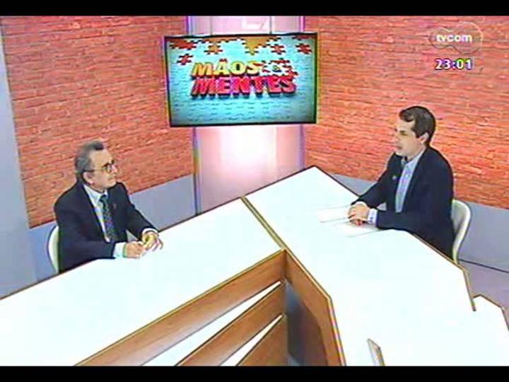 Mãos e Mentes - Sociólogo e filósofo italiano Raffaele de Giorgi - Bloco 1 - 20/01/2013
