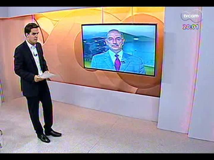 TVCOM 20 Horas - Deputado Osmar Terra fala sobre o projeto da nova Lei Antidrogas - Bloco 1 - 22/05/2013