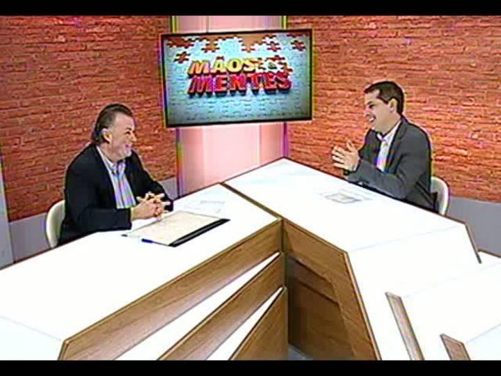 Mãos e Mentes - Diretor-presidente da Opus Promoções, Carlos Konrath - Bloco 1 - 27/05/2013