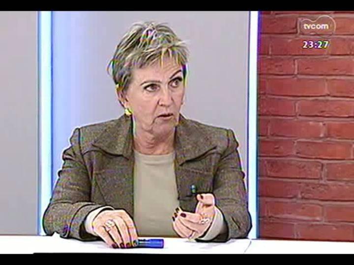 Mãos e Mentes - Primeira mulher eleita como presidente do TRE-RS, Elaine Harzheim Macedo - Bloco 3 - 16/06/2013