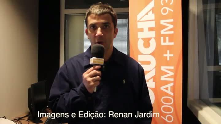 Jogo Rápido - Paulo Schimitt ameaça Grêmio com perda de mandou por 10 jogos - 29/07/2013