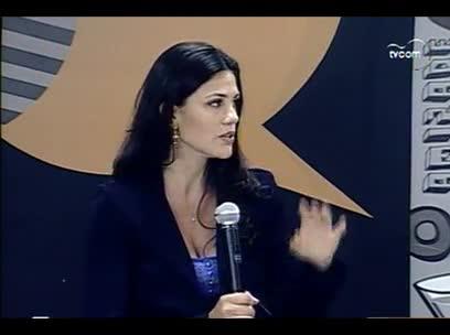 TVCOM Tudo Mais – Velejadora, Larissa Juk - 3º bloco – 14/10/2013