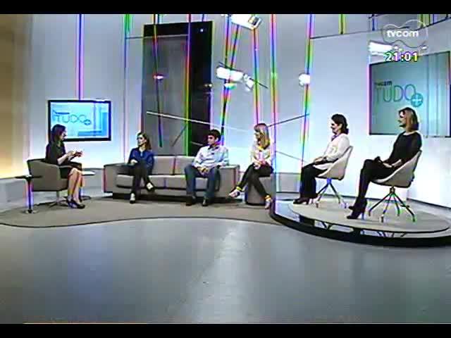 TVCOM Tudo Mais - 18 anos da TVCOM: Simone Lazzari, André Azeredo, Rodaika, Lígia Tricot e Sabrina Thomazi