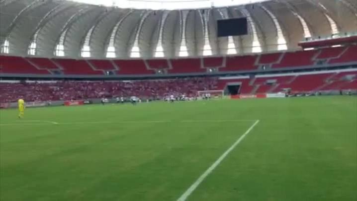 Confira os bastidores da reabertura do Beira-Rio. 15/02/2014
