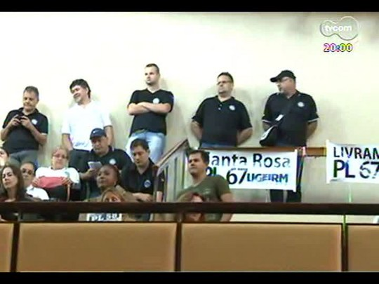 TVCOM 20 Horas - Assembleia Legislativa aprova reajustes para servidores públicos - Bloco 1 - 08/04/2014