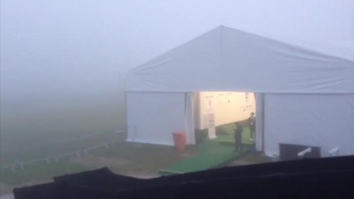 Seleção vai enfrentar neblina em Teresópolis. 25/05/2014