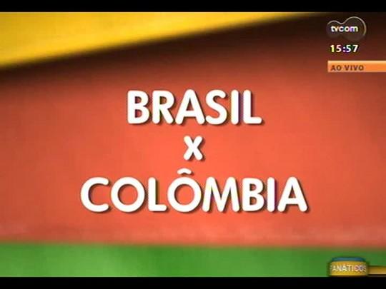 """Colombiano e brasileira que moram no exterior falam sobre torcer na \""""casa\"""" do adversário"""