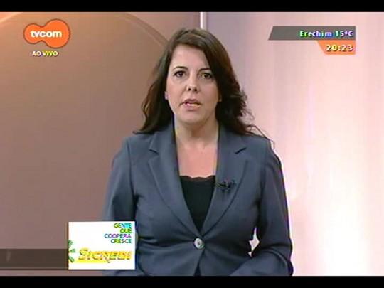TVCOM 20 Horas - Divulgada a quarta pesquisa Datafolha de intenção de voto ao governo do Estado - Bloco 3 - 18/09/2014