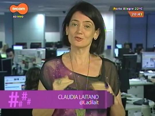 #PortoA - Cláudia Laitano dá a dica do Festival Internacional de Teatro de Rua em Porto Alegre - 29/03/2015