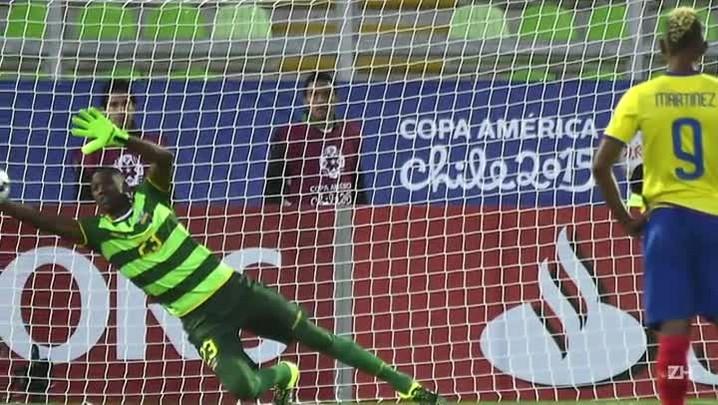 Bolívia vence Equador por 3 a 2