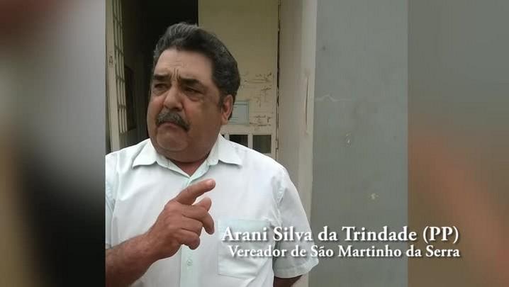 Vereador Arani Silva da Trindade fala sobre a polêmica de gerador em São Martinho da Serra