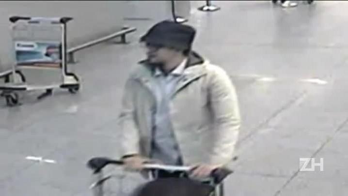 Bélgica divulga vídeo de 3º suspeito de atentado no aeroporto