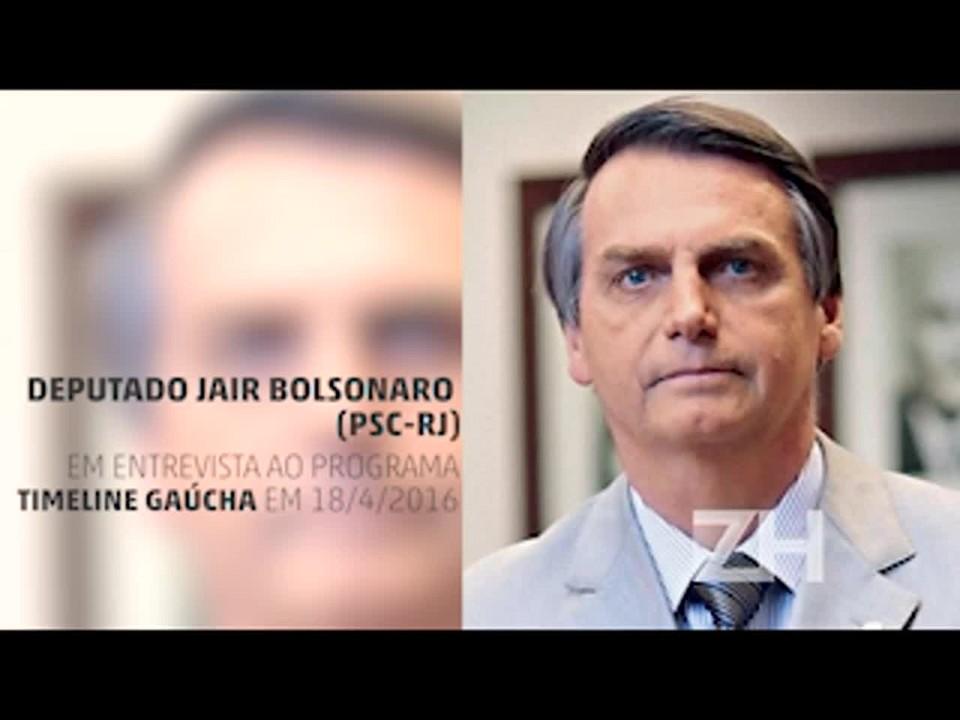 Ouça a entrevista do deputado Jair Bolsonaro ao Timeline Gaúcha