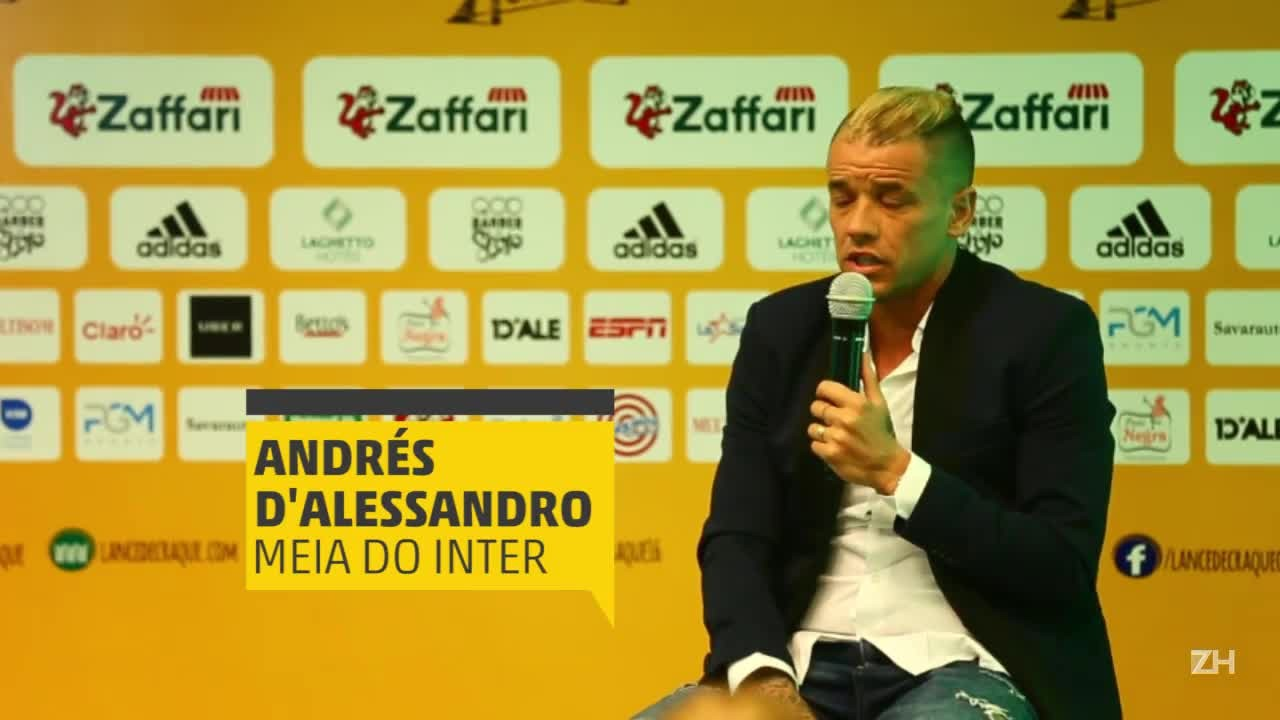 D\'Alessandro fala sobre queda do Inter e motivos da saída do clube