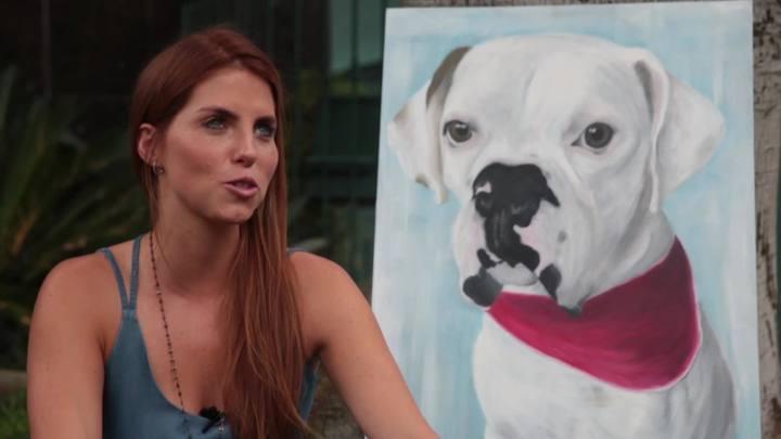 Paula Brenner conta como começou a pintar pets
