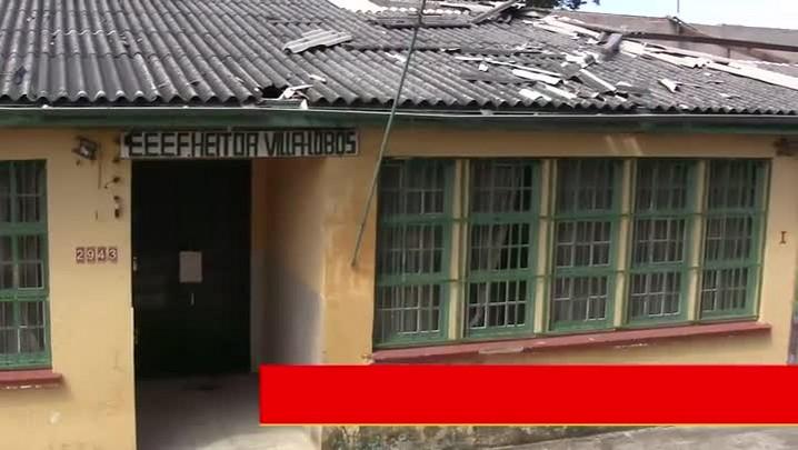Comunidade do Lami espera por reconstrução de prédio da Escola Estadual Heitor Villa-Lobos