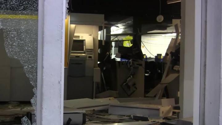 Três bancos são atacados nesta madrugada em Encruzilhada do Sul