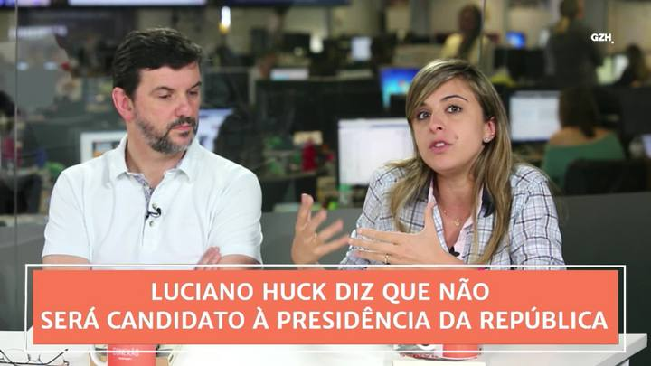 Conexão GaúchaZH: Luciano Huck diz que não será candidato à Presidência da República