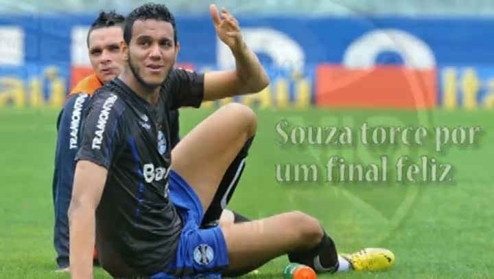 Souza torce por um final feliz na renovação do contrato