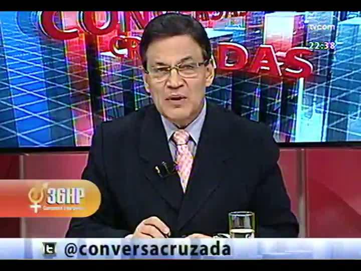 Conversas Cruzadas - Tranferência do governo estadual de mais de R$ 4 bilhões dos depósitos judiciais - Bloco 3 - 03/04/2013