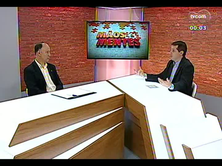 Mãos e Mentes - Ministro do Desenvolvimento Agrário, Pepe Vargas - Bloco 3 - 13/08/2013