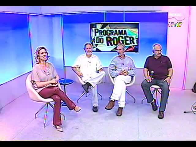 Programa do Roger - Diretor Jaime Lerner e atores falam do filme \'Dyonélio\' - bloco 1 - 29/10/2013
