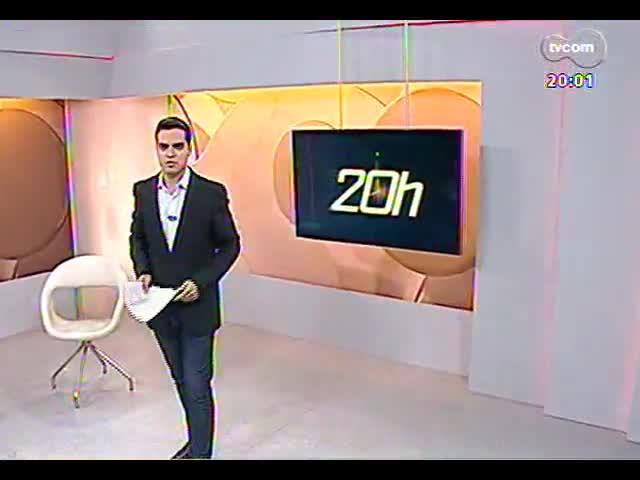TVCOM 20 Horas - \'Caetanos\' voltam a fiscalizar as sinaleiras do trânsito de POA - Bloco 1 - 08/11/2013