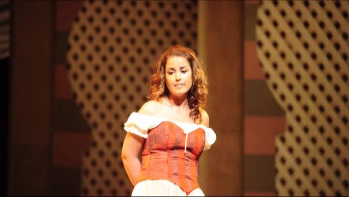 Ensaio geral da Ópera Carmen