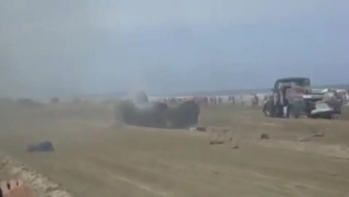 Piloto morre durante prova da Arrancada de Caminhões no litoral Sul de SC