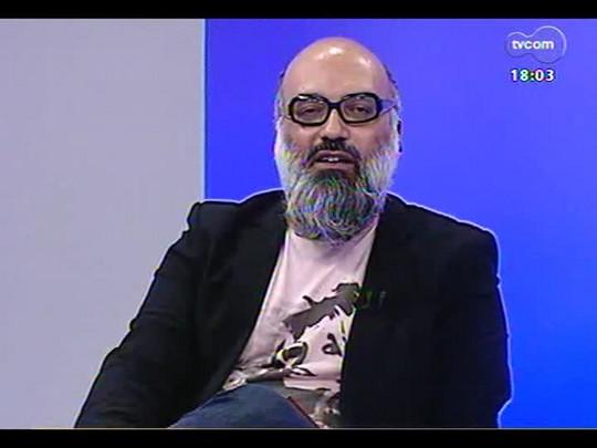 """Programa do Roger- Cinema: Longa \""""Sobre Sete Ondas Verdes Espumantes\""""; Diretores: Cacá Nazário, Bruno Polidoro e a produtora Jéssica Luz - Bloco 2 - 26/03/2014"""