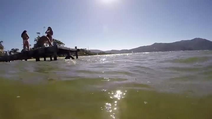 Tarde na Lagoa da Conceição