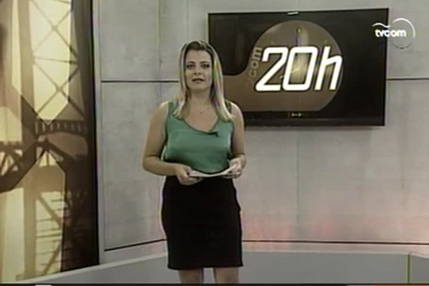 TVCOM 20h - Raios atingem Criciúma durante temporal - 8.1.15