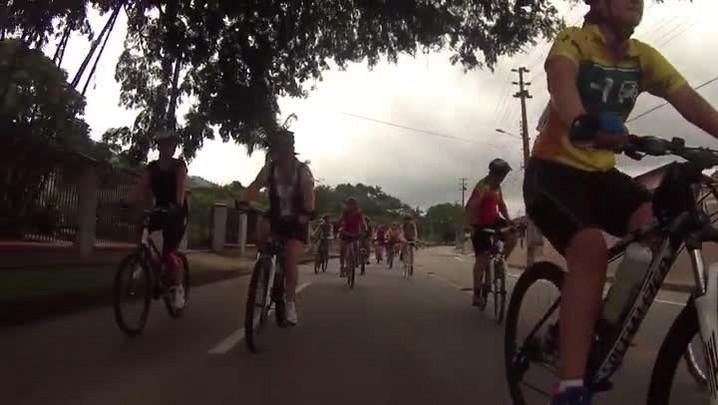 Pedal Feminino Girando com Elas em Jaraguá do Sul